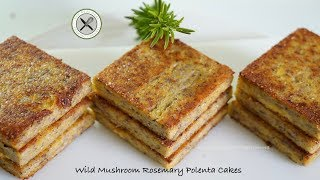 Wild Mushroom Rosemary Polenta – Bruno Albouze – THE REAL DEAL