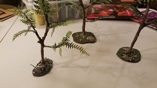 Crafting Trees From Real Twigs And Branches - D&D, Pathfinder, Tabletop RPG Terrain