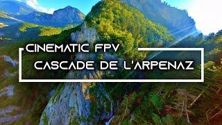 CINEMATIC FPV EPIC - CASCADE ENTRE MONT-BLANC ET CHAMONIX