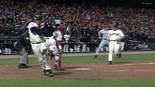 2002 WS Gm5: Snow swoops in to save Baker's son