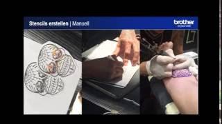 Spielend leicht Tattoo Stencils drucken inkl. Graustufen