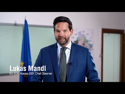 Chief Observer Lukas Mandl's message on Election Day for Local Elections in Kosovo 2021