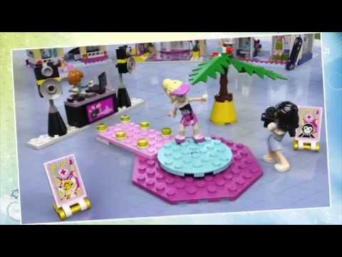 Vidéo LEGO Friends 41058 : Le centre commercial d'Heartlake City