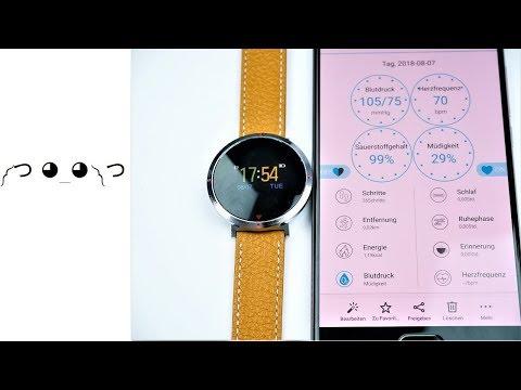 Alfawise S2 - IPS Smartwatch mit Blutdruck und O² Messung für 25€ ?! - Moschuss.de