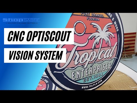ShopSabre Optiscout Vision Systemvideo thumb
