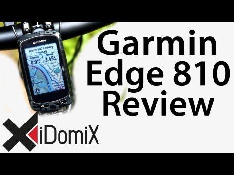 Garmin Edge 810 Test - Hands On Review [ Deutsch / German ]