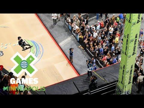 Mitchie Brusco wins Skateboard Big Air gold | X Games Minneapolis 2018