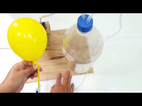 Cómo Hacer Un Mini Compresor Casero (muy fácil de hacer)
