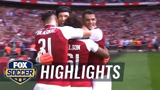 Arsenal vs. Chelsea | 2017 FA Community Shield Highlights