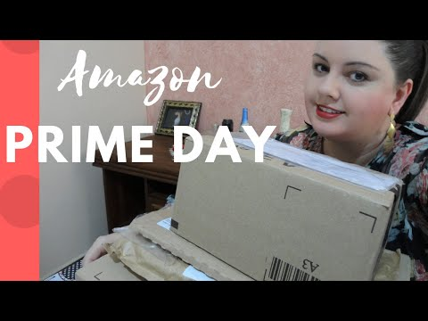 Unboxing  das compras no Amazon Prime Day | Leitura por Amor