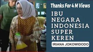 Nenteng Es Jeruk Plastikan!!! Ibu Iriana Jokowi, IBU Negara Yang Super Keren!!!!