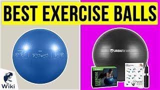 10 Best Exercise Balls 2020