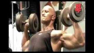 "Dwayne Johnson \""The Rock\"" Exclusive New Workout 2010"