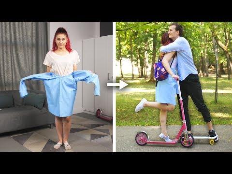 13 Cool DIY School Clothes and Fashion Hack Ideas by Crafty Panda