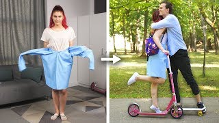 13 Cool DIY School Clothes and Fashion Hack Ideas by Crafty Panda