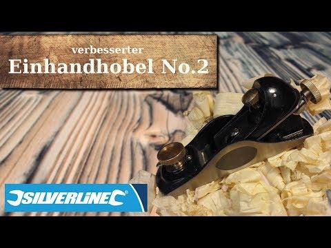Einhandhobel No.2/Hobel verbessert/silverline