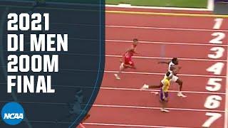 200 م رجال - 2021 بطولة NCAA لألعاب القوى