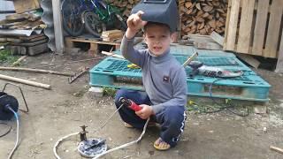 Невероятные способность мальчика!!! Сварщик 80 lvl !!!