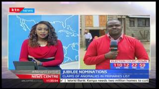 Preparations for Jubilee Party's nominations in Nakuru as aspirants clash in Baringo County