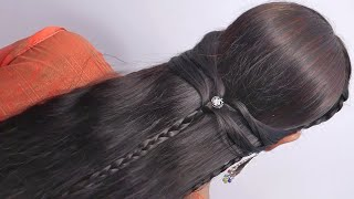 Top 5 Hairstyle For Girls  Easy Hairstyles   Loose Hair Hairstyles   Beautiful Hairstyles