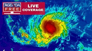 Hurricane Florence LIVE COVERAGE: Growing Stronger - 9/11/18