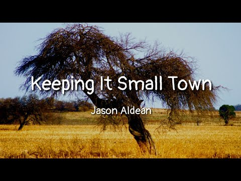 Jason Aldean - Keeping It Small Town (lyrics)
