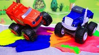Вспыш и чудо машинки: Цветной трек! Мультики с игрушками