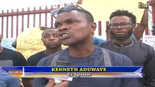 Youths in Oil producing areas protest against lack of basic amenities in their communities