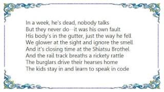 Fatima Mansions - The Holy Mugger Lyrics
