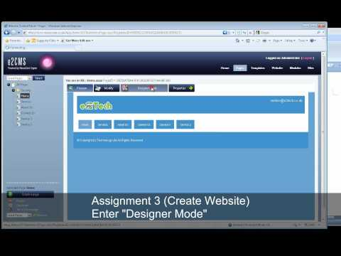 e2CMS User Experience Test - Experiment One - Part 1