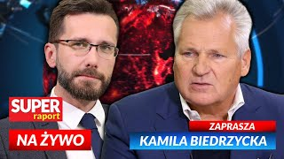 SE Nowy Raport  Aleksander Kwaśniewski i Radosław Fogiel z PiS [NA ŻYWO] Super RAPORT