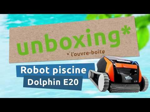 Unboxing Robot Dolphin E20 de Maytronics