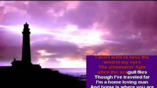 Andy Williams' HOME LOVIN' MAN cover with Karaoke lyrics
