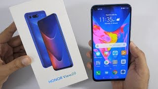 Honor View 20 Unboxing & Overview with Punch Hole Camera!