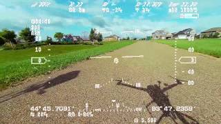 """My HD HUD from my Eagle Tree Systems """"Vector"""" OSD and GoPro Hero 3 - August 30th, 2014"""