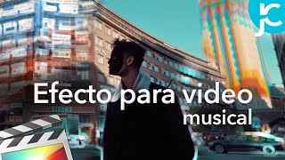 Final Cut Pro X Tutorial - Efectos Para Videos Musicales - Mover Edificio