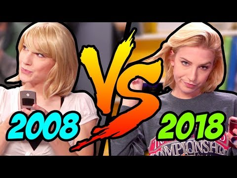 HIGH SCHOOL IN 2008 VS 2018