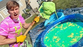 OOBLECK SWIMMING POOL!! (GONE WRONG) - Video Youtube