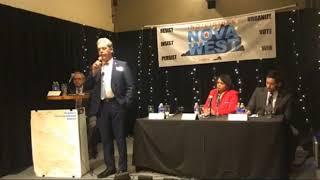"""Indivisible NOVA West """"Views & Brews"""" VA 01 Dem. Forum (4/6/18)"""