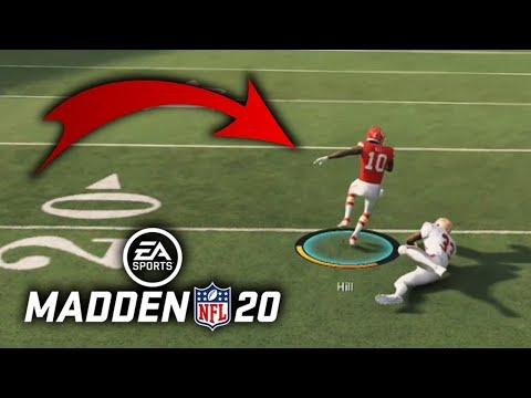 Throwing Defenders on the Ground..2..EZ   Madden 20 Ranked Match