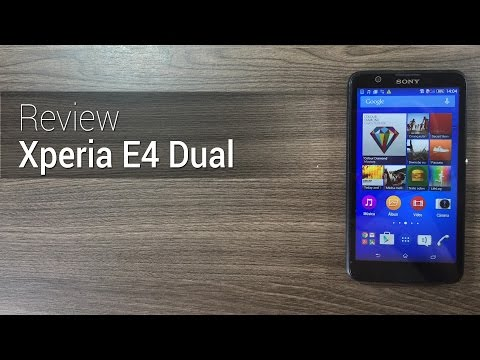 Análise: Xperia E4 Dual | Review do Tudocelular.com