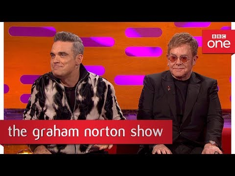 Robbie Williams once hid Geri Halliwell in a holdall - The Graham Norton Show: 2017 - BBC One