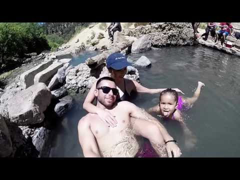 Day trip to Fifth Water Hot Spring /June 2016/Spanish Fork UT
