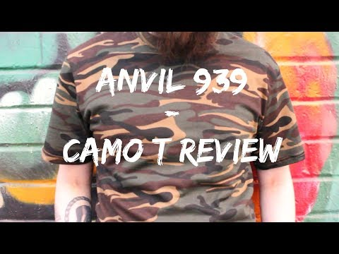 Anvil 939 Camo T-Shirt Review
