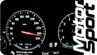 New BMW M5 (F10) 0-315 km/h (Motorsport)