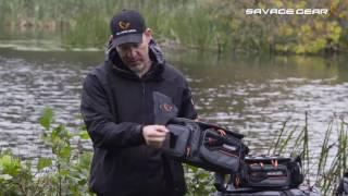 Сумка рыболовная savage gear 4-pro box system bag l 43836