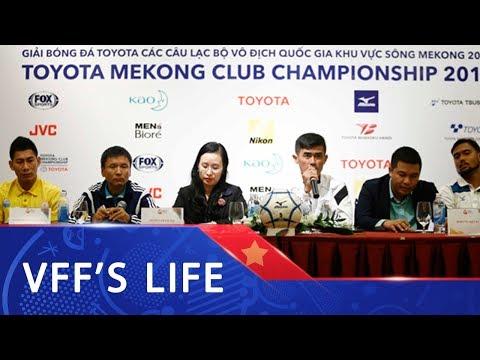 Họp báo   Sanna Khánh Hòa quyết thắng tại Mekong Cup 2017