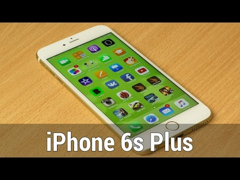 Обзор Apple iPhone 6S Plus (32Gb, gold, A1687)
