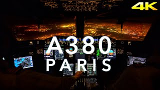 PARIS | A380 LANDING 4K