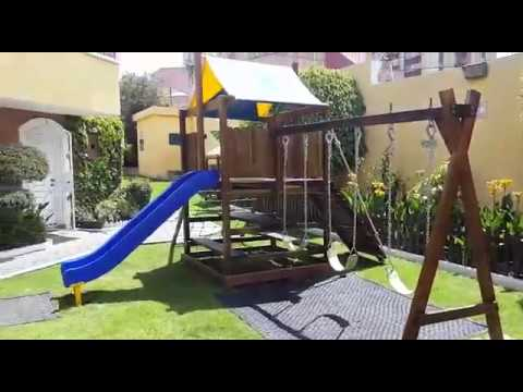 Fabricación y diseño de parques de recreación infantil e implementación de áreas deportivas